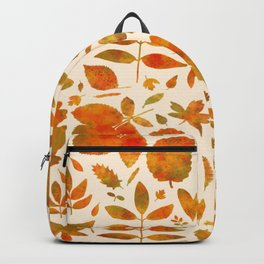 Autumn Leaves Fall Backpack
