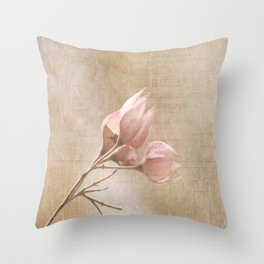 Artistic Expressions by KJ DeWaal presents Tranquil Throw Pillow
