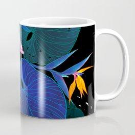 tropical // night in the garden Coffee Mug