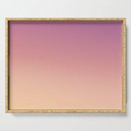 ROSA - Minimal Plain Soft Mood Color Blend Prints Serving Tray