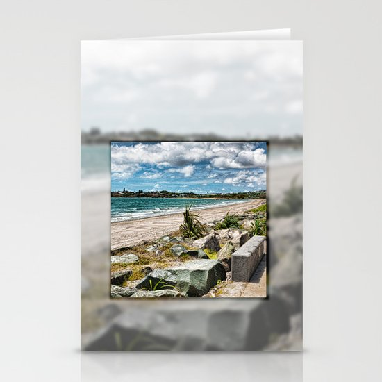 Beautiful Bay View Stationery Cards