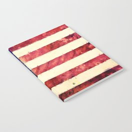 Vintage American Flag Notebook