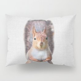 Squirrel - Colorful Pillow Sham