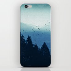 Blue Valmalenco - Alps at sunrise iPhone & iPod Skin