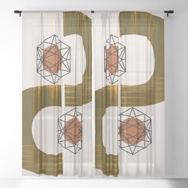 Love Is A Save Harbour Sheer Curtain