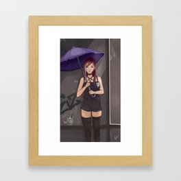 Monsoon is about to end Framed Art Print