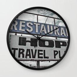 Restaurant Hopi Travel Plaza Wall Clock