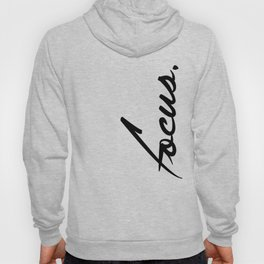 Focus - version 1 - black Hoody