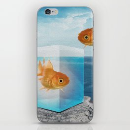 Horatio by the Sea - Goldfish iPhone Skin