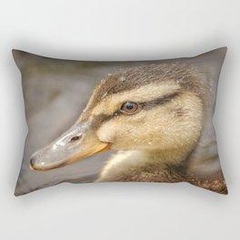 Wet Duckling Rectangular Pillow