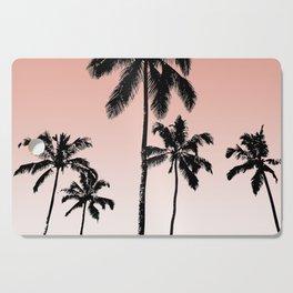 Sunset palms Cutting Board