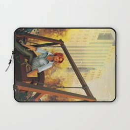 Quiet time in the park Laptop Sleeve