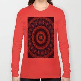 Peacock Pinwheel Long Sleeve T-shirt