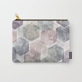 Hexagon Dreams Carry-All Pouch
