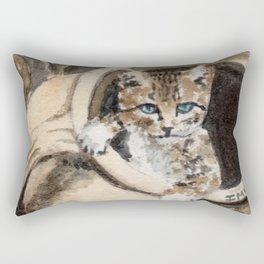 Sweet cat Rectangular Pillow