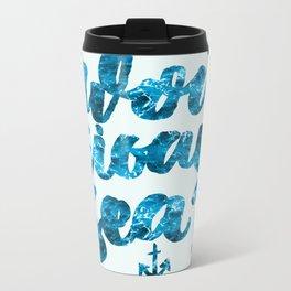 Pou eisai esy? Metal Travel Mug