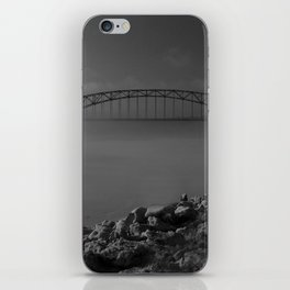 Julian Dubuque Bridge and the Mississippi River iPhone Skin