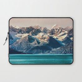 Scenic sunset Alaskan nature glacier landscape wilderness Laptop Sleeve