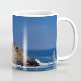 Crispy Morning at Montauk Point Lighthouse Long Island New York Coffee Mug