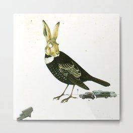 FabCreature · DrosselHasenBlues Metal Print