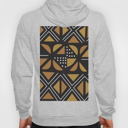 African Tribal Pattern No. 11 Hoody