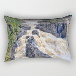 Powerful Barron Falls Rectangular Pillow