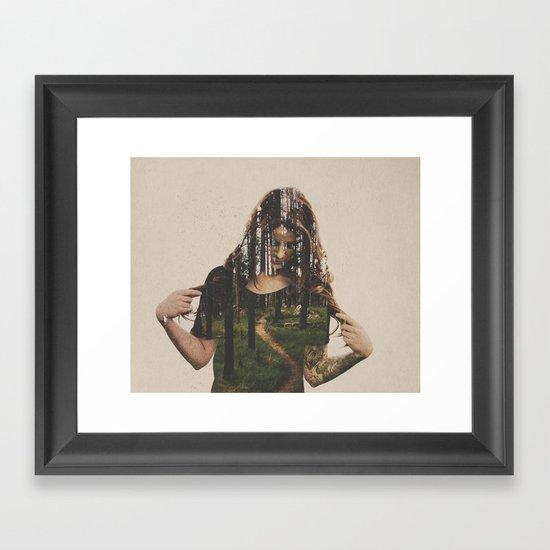 Became Framed Art Print