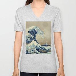 The Great Wave off 2049 Unisex V-Neck