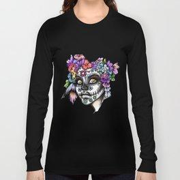 Sugar Skull Girl Long Sleeve T-shirt