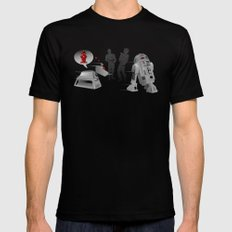 K9 love affair Black MEDIUM Mens Fitted Tee