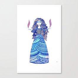 Tomira the Enchantress Canvas Print