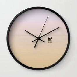 Flotsam in Lake Michigan Wall Clock
