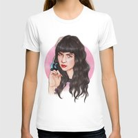 grimes T-shirts featuring Grimes III  by Helen Green