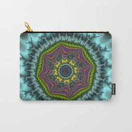 Fractal Agate Carry-All Pouch
