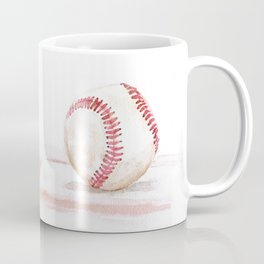 Baseball Watercolor Coffee Mug