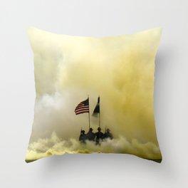 US Army Graduation - Panoramic Throw Pillow