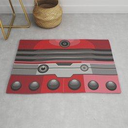 Dalek Red - Doctor Who Rug