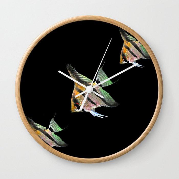 Fishs 1 Wall Clock