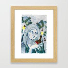 Winter Fauna Framed Art Print