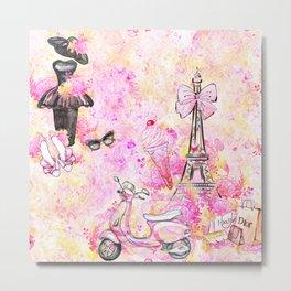 Fashion and Paris #5 Metal Print
