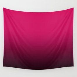 Ombre . Black -crimson Wall Tapestry