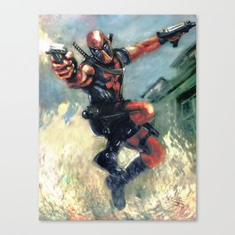 The Merc with the mouth Canvas Print