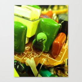 Chiclets Canvas Print