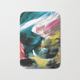 Abstract Artwork Colourful #3 Bath Mat