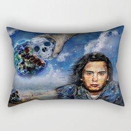 Jean-Michel Jarre 40 Years Oxygene  Rectangular Pillow