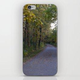 Illinois Autumn Trail iPhone Skin