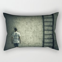 imaginary stairway escape Rectangular Pillow