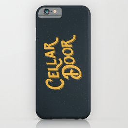 Cellar Door iPhone Case