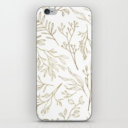 Golden Nature iPhone Skin