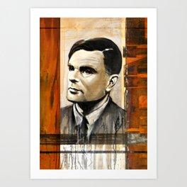 Turing Art Print